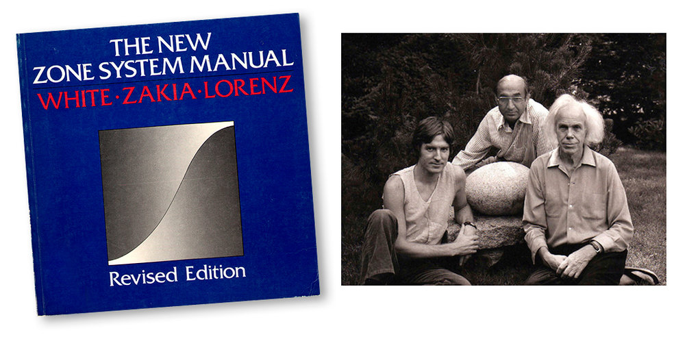 The New Zone System Manual by Minor White, Richard Zakia and Peter Lorenz
