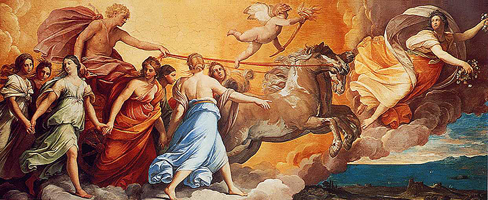 """L'Aurora"" by Guido Reni, c. 1614."