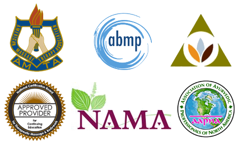private massage school in RI recognized by RI Board of Governors for Higher Education, National Ayurvedic Medical Association, Yoga Alliance and Certification Board of Therapeutic Massage (CBTMB)