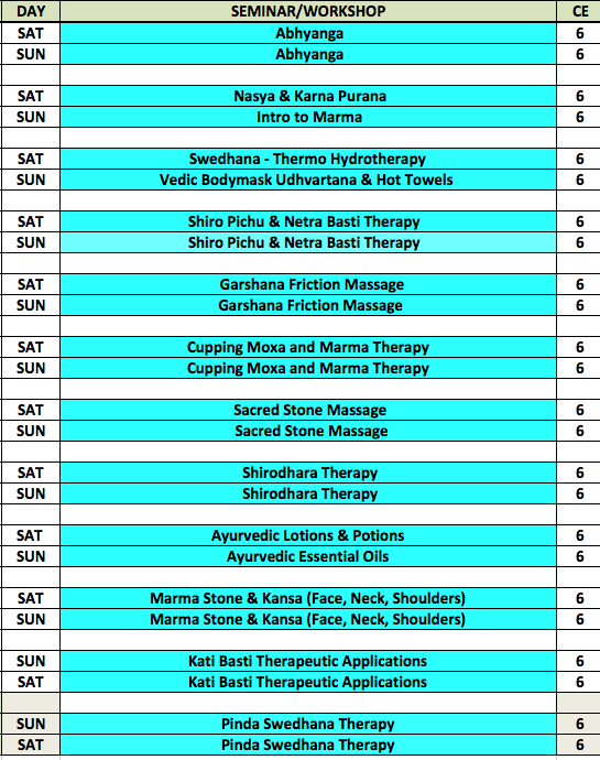 This is a living, breathing schedule that may give rise to some minor changes, so please check the website frequently.