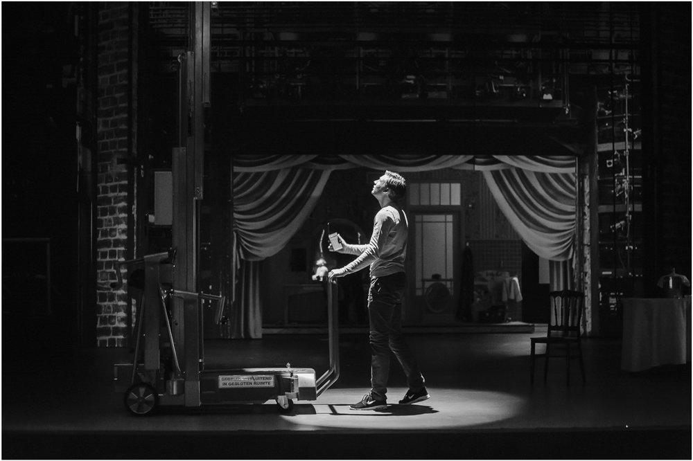 Delamar backstage fotografie