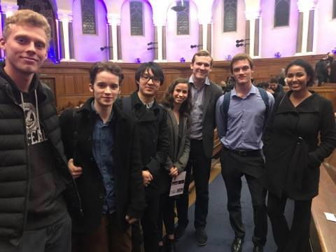 UNSOC Members at Emmanuel Centre