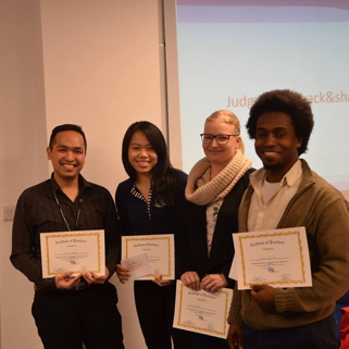 Winners of the 2015 Development Case Challenge