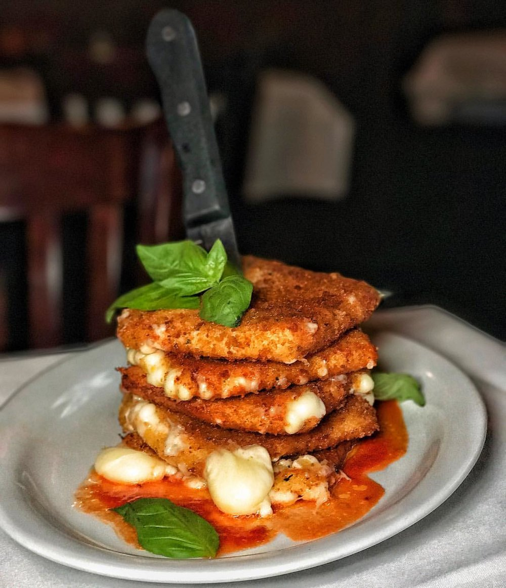 Robke's: Fried Mozzarella Tower