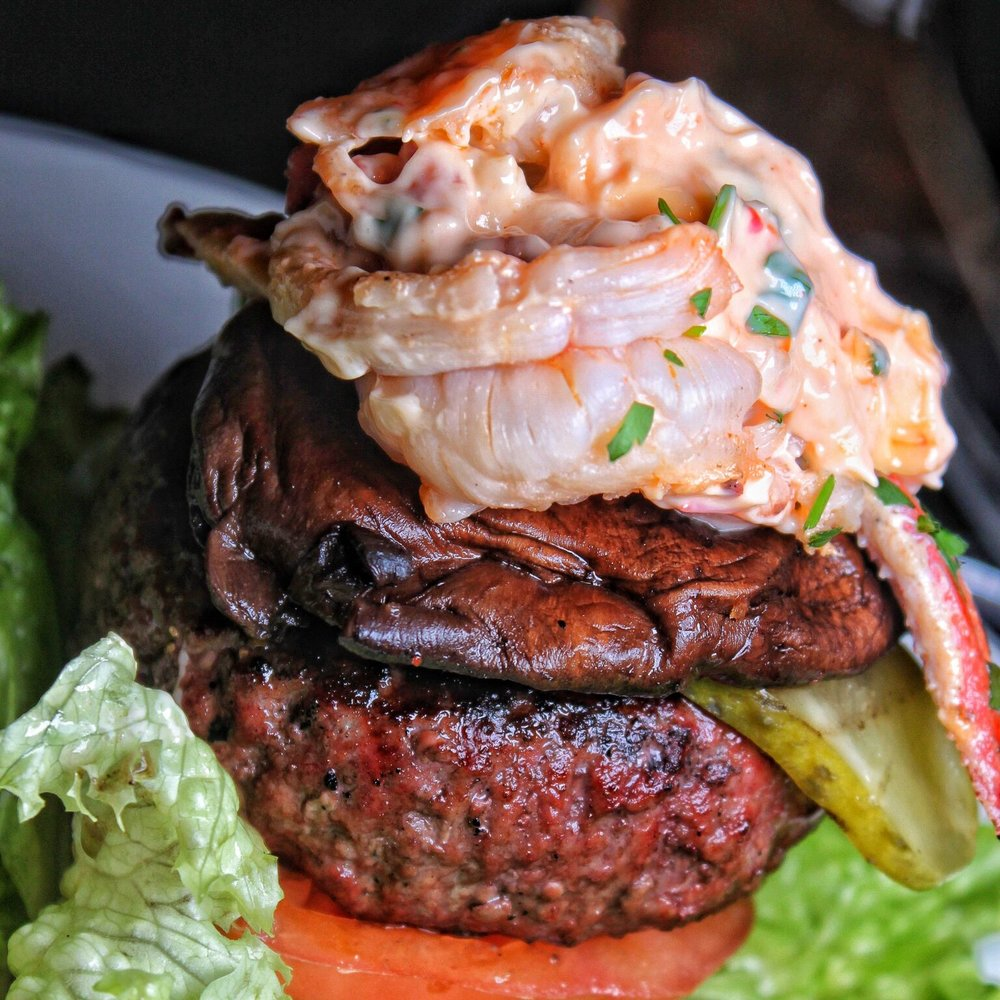The Butcher: Surf N Turf Burger