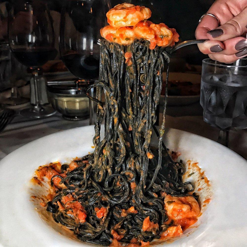 Angelo's: Crab Sauce Pasta