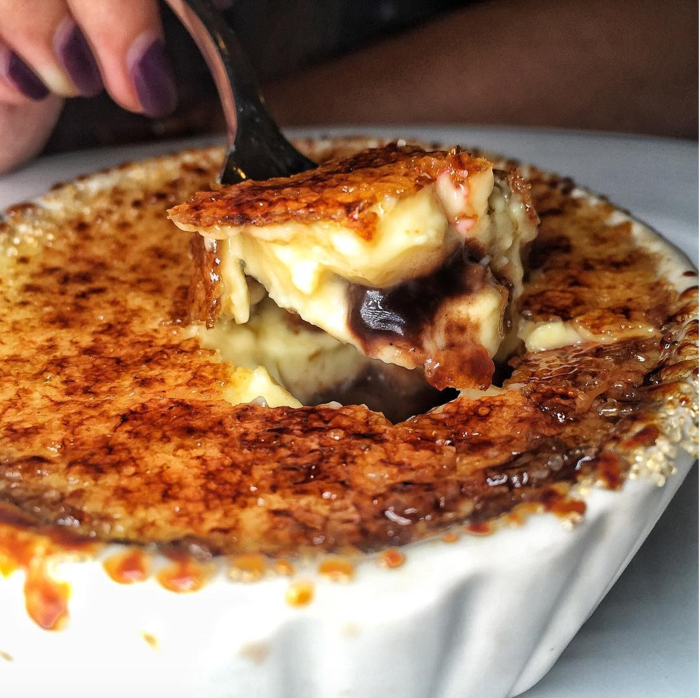 The Trattoria: Creme Brulee