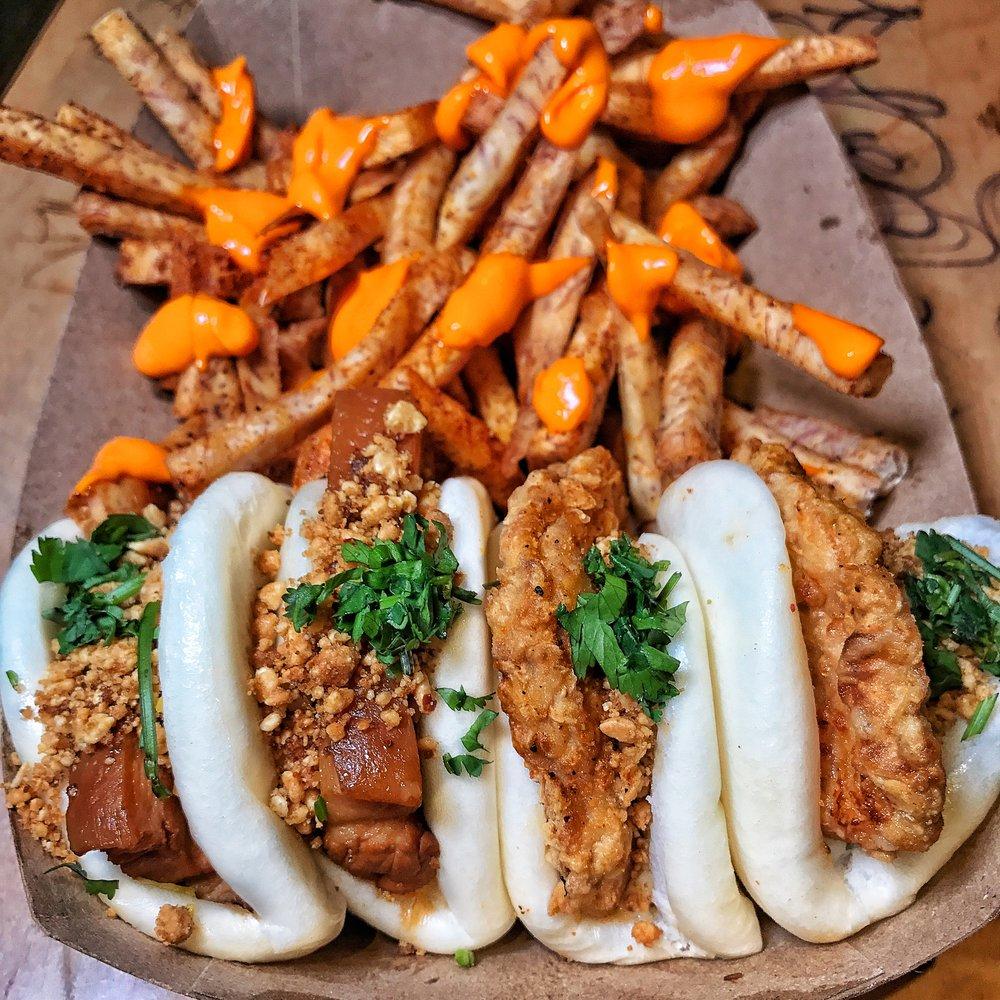 BAOHAUS: Bao Buns x Taro Fries