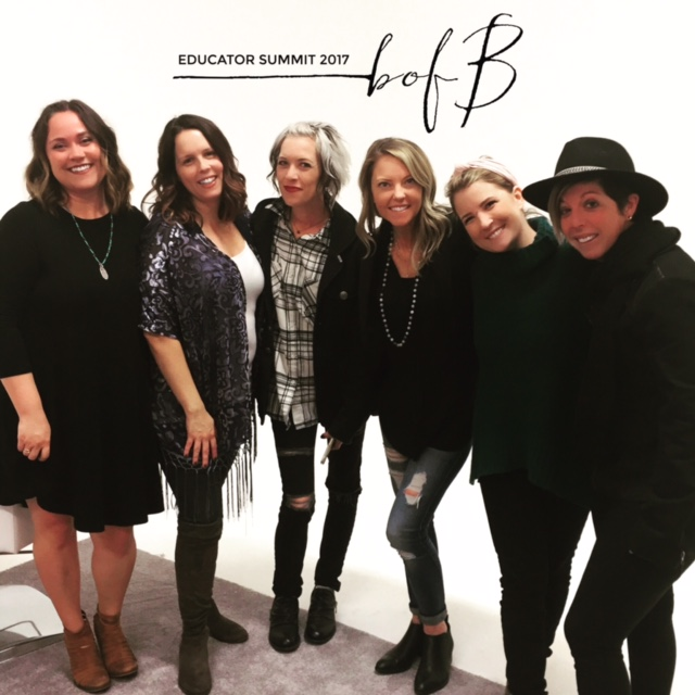 such a great time with this talented ladies! #businessofbalayage  <<<•••