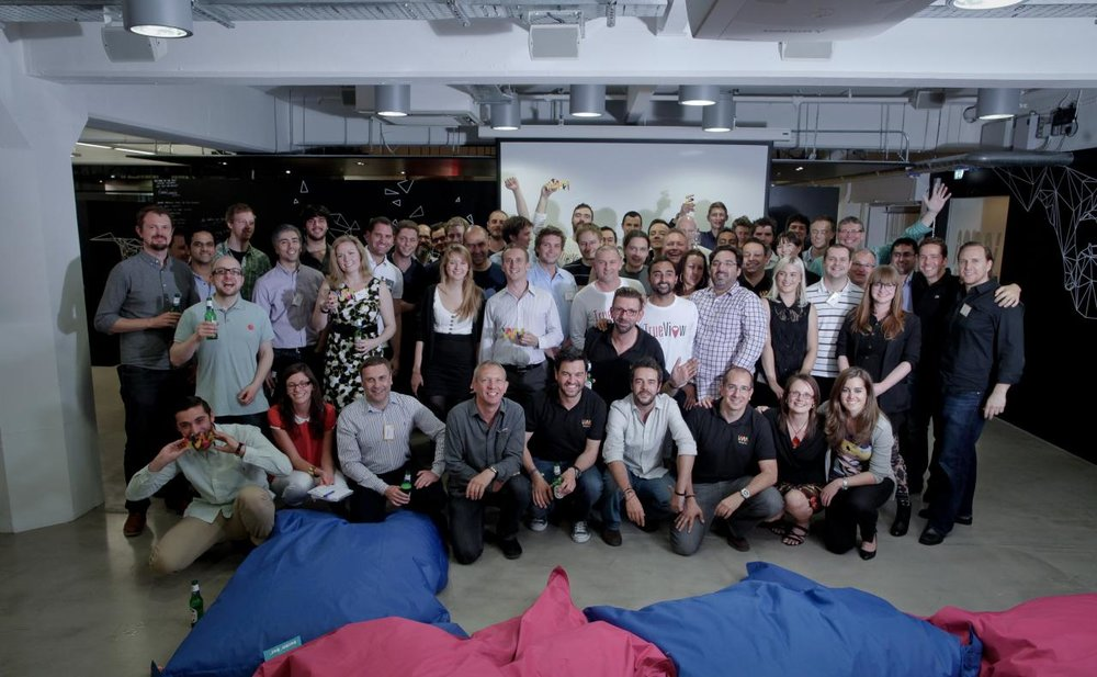 All the Wayra 2012 winners - such great friendships made with this lot!