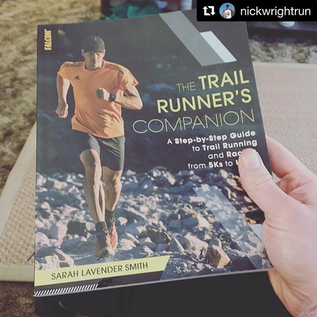 Congrats to our listener @nickwrightrun!  He won this signed copy from our Trail Running episode with @sarahrunning.  Enjoy! #Repost ・・・ Look what came in the mail today! I won this from the @heartlandrunningpodcast folks! Thanks guys. Can't wait to read it!