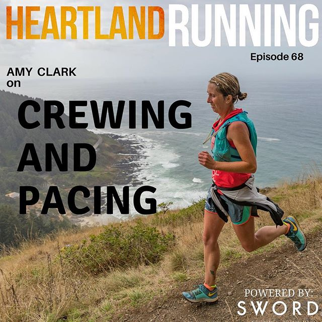 Our newest episode drops today.  This week we talk about crewing and pacing with Amy Clark.  Listen on your favorite podcatcher or click link in bio.