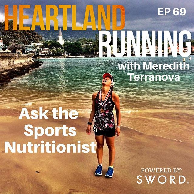 This week's episode is here.  Crystal talks with Meredith Terranova of Eating and Living Healthy, LLC.  Meredith is a sports nutritionist and awesome endurance athlete (4 time Ultraman finisher!). On this episode she answers listeners' questions about all things related to diet.  Link in bio.