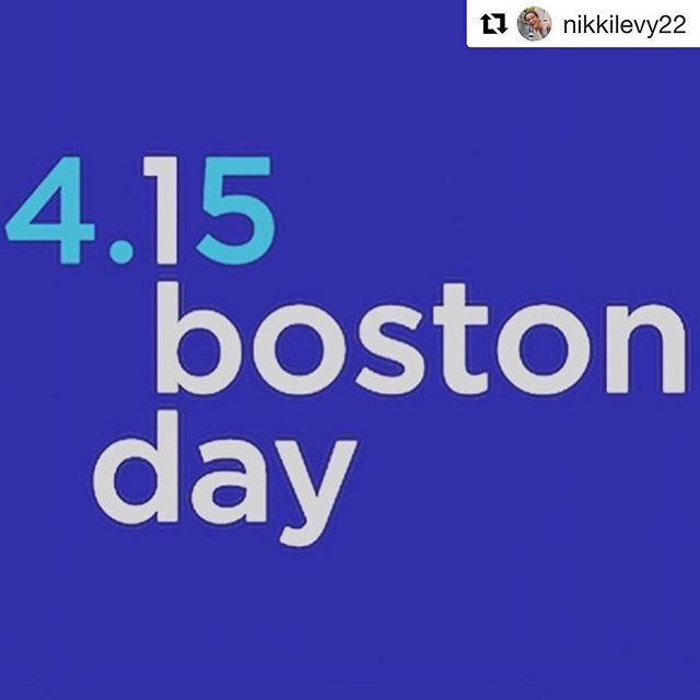 What will you do today?  #Repost @nikkilevy22 with @get_repost ・・・ Tomorrow is the Boston Marathon—one of the happiest days of the year for the city and runners alike. But today is the 5th Anniversary of the Boston Marathon bombing, one of the worst. Today is also #onebostonday a day created to honor the strength, kindness and resiliency of the Boston community and represent the embodiment of the spirit of #bostonstrong . . Please wherever you are in the world today (even if for you it's technically tomorrow) do what you can to honor the memory of Martin Richard, Officer Sean Collier, Lingzi lu, Krystal Campbell and the more than 200 brave survivors. . . You could dedicate your run today to the victims. You could thank the police, firefighters and first responders whose job it is to run toward danger to keep us safe. Volunteer, give blood, make a donation.  Even something as simple as buying someone a coffee or smiling at people on the street (even hardcore New Englanders can smile for a day) . . Let's spread the kindness of the day around the world. If you'd like please feel free to share your ideas in the comments. Thank you. . . Love, The people of Boston 💙💛💙💛 . . . Thank you @bostonpolice and @bostonfire 💙💛 . . . #run #runner #running #runnerscommunity #runnersofinstagram #firstresponders #boston #bostonstrong