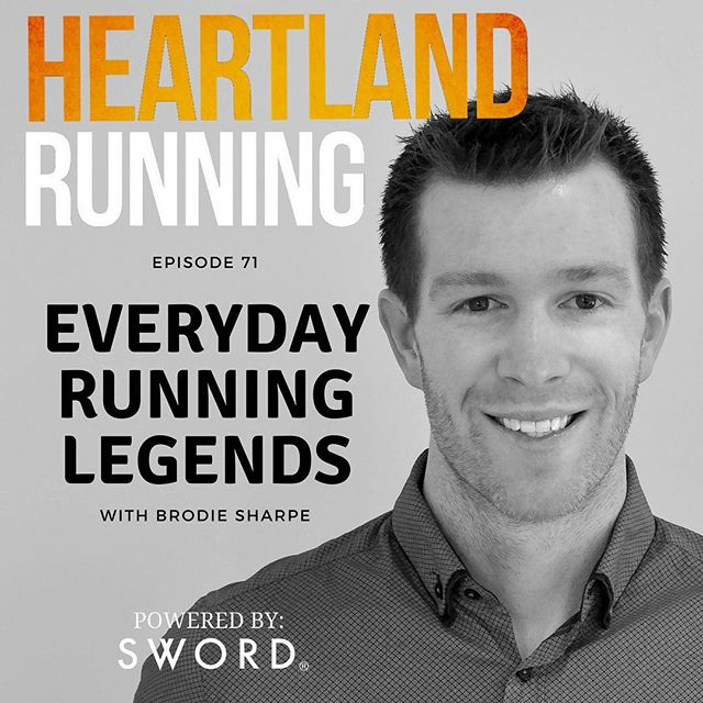 "A new episode dropped today.  Check out Crystal's interview with Brodie Sharpe from the Australian podcast ""Everyday Running Legends"". (Link in bio.)"