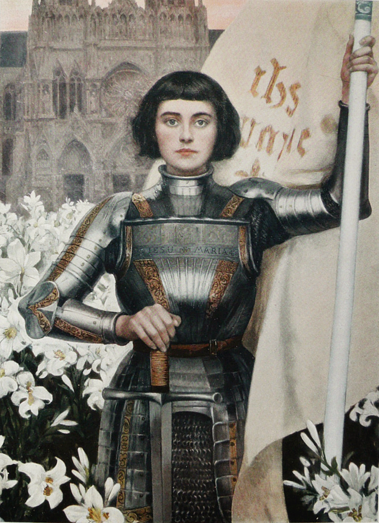 Joan of Arc engraving by Albert Lynch (1903)