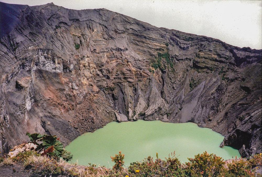 Volcán Irazú, Cordillera Central