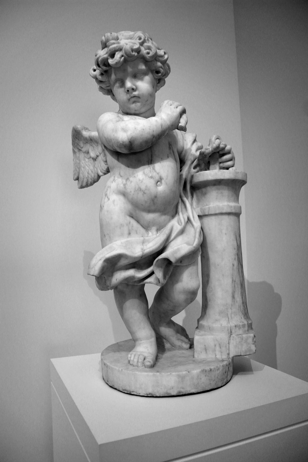 Ancient Greek statue of Eros (I presume), North Carolina Museum of Art