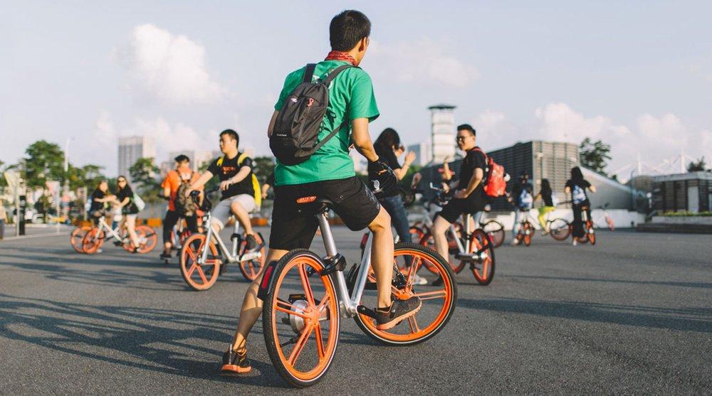 Mobike bike sharing company
