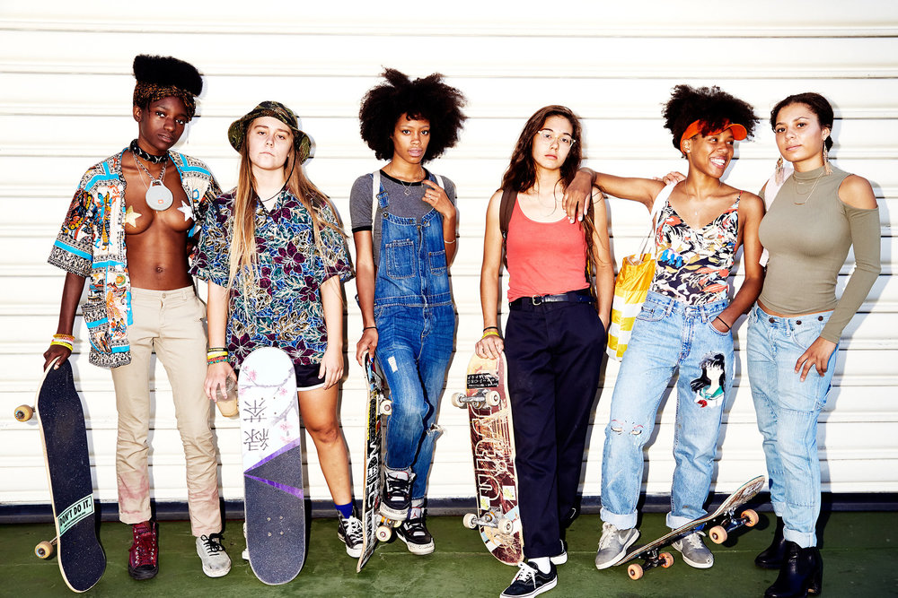 The Skate Kitchen Collective