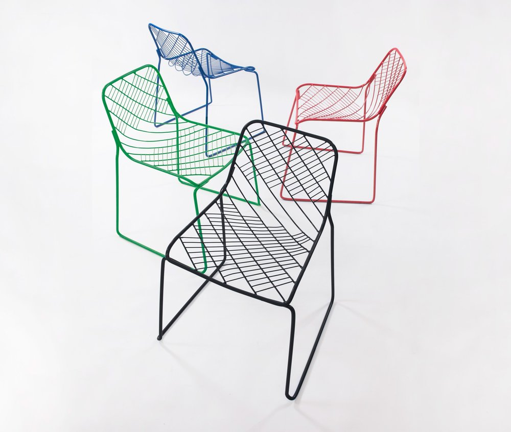 Mesh chair by People's Industrial Design Office