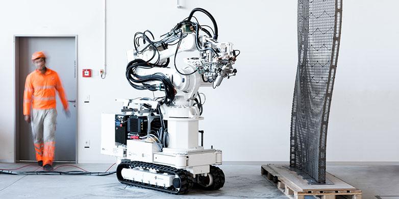Eth Zurich construction robot