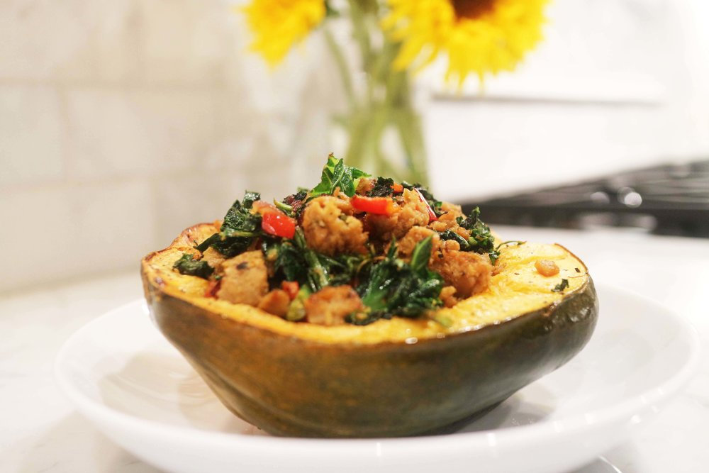 Vegan Acorn Squash