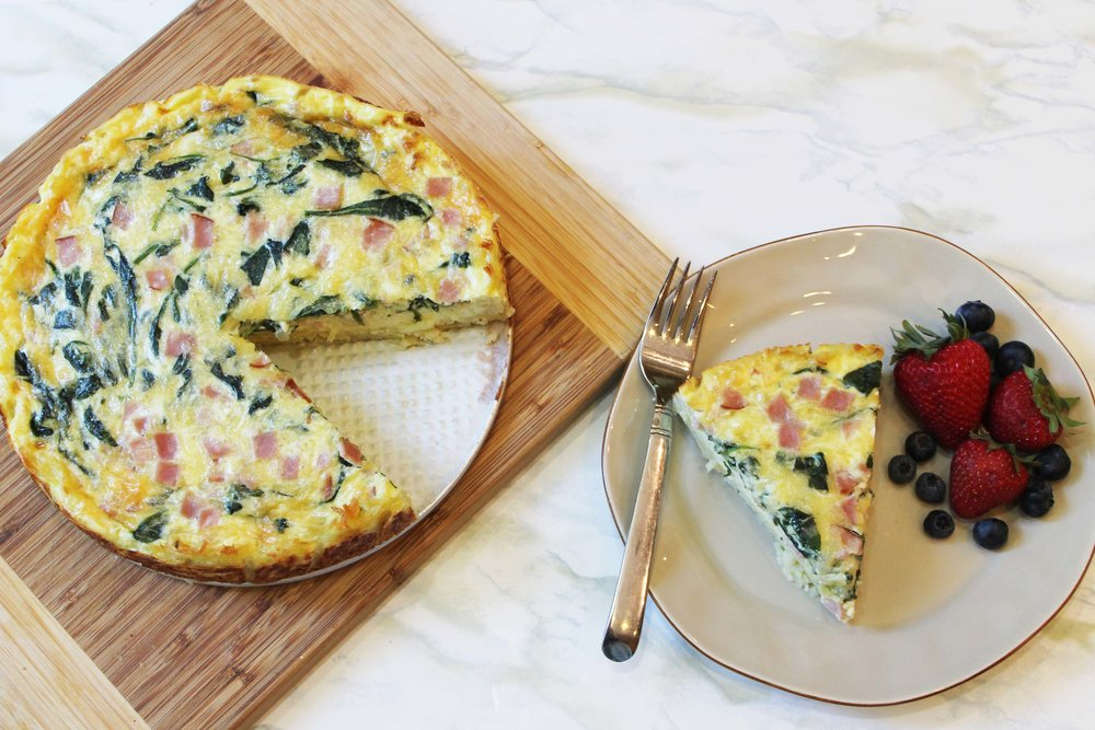 quiche and plate.JPG