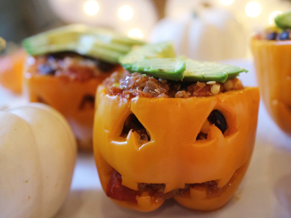 stuffed peppers with avocado hats.jpg