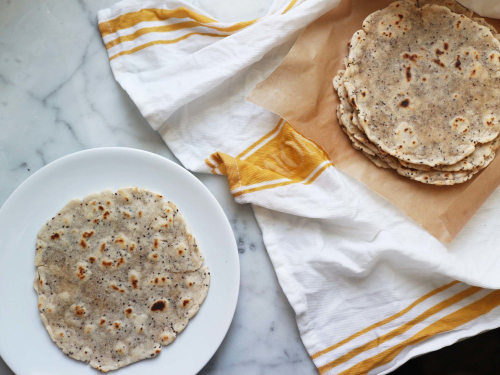 tortilla on plate and in towel.jpg
