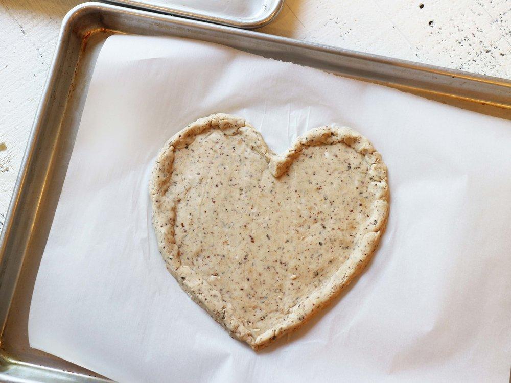 single heart shaped cassava dough.jpg