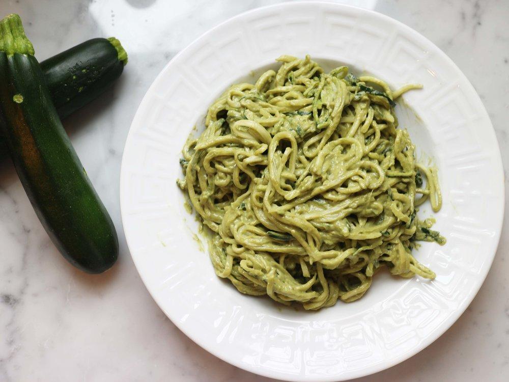 aerial zucchini noodles avocado pesto.jpg