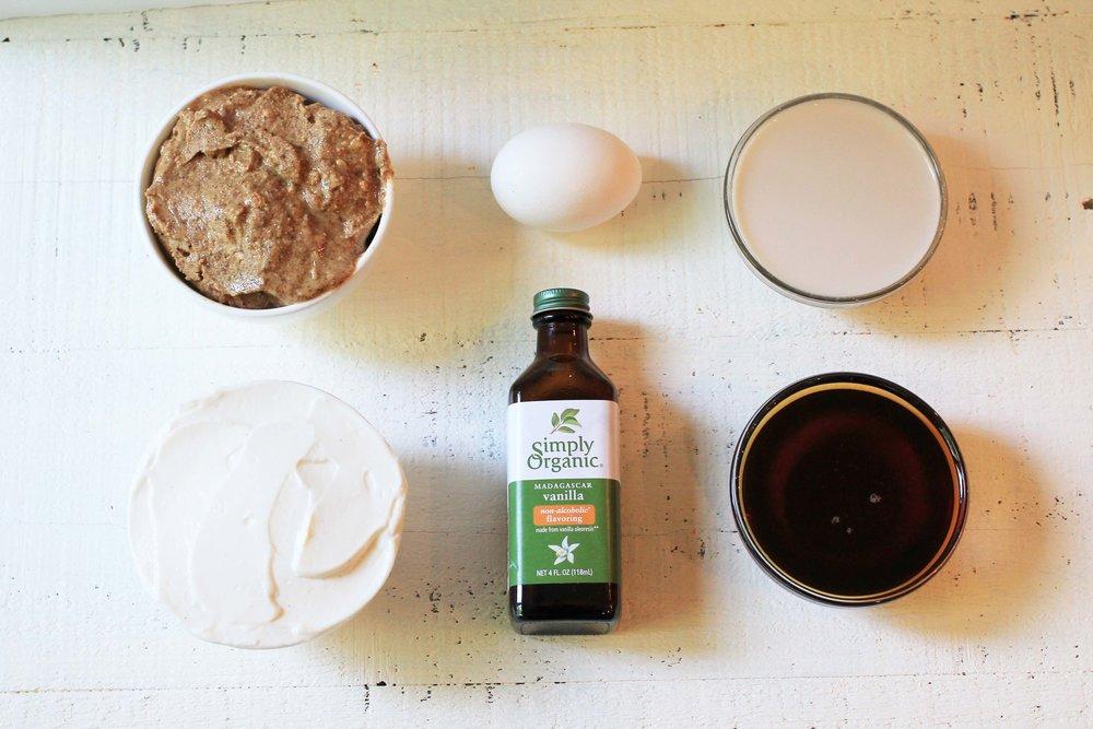 Wet ingredients maple almond butter muffins.jpg