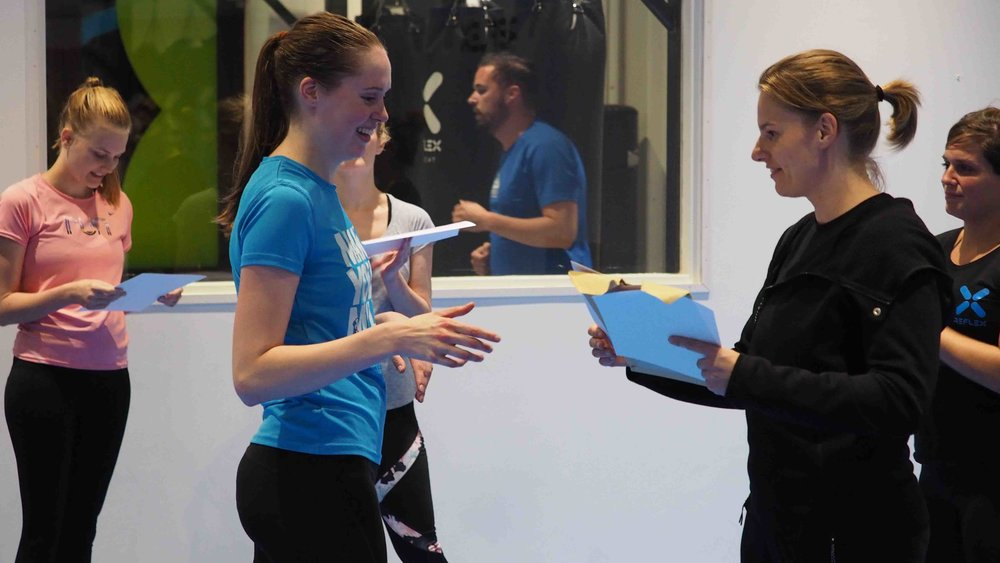JUNO Self Defense Sisterhood Diploma