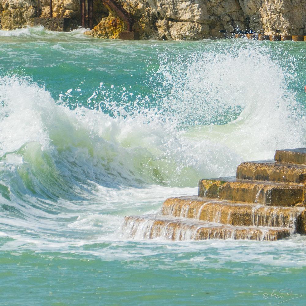 Freshwater wave.