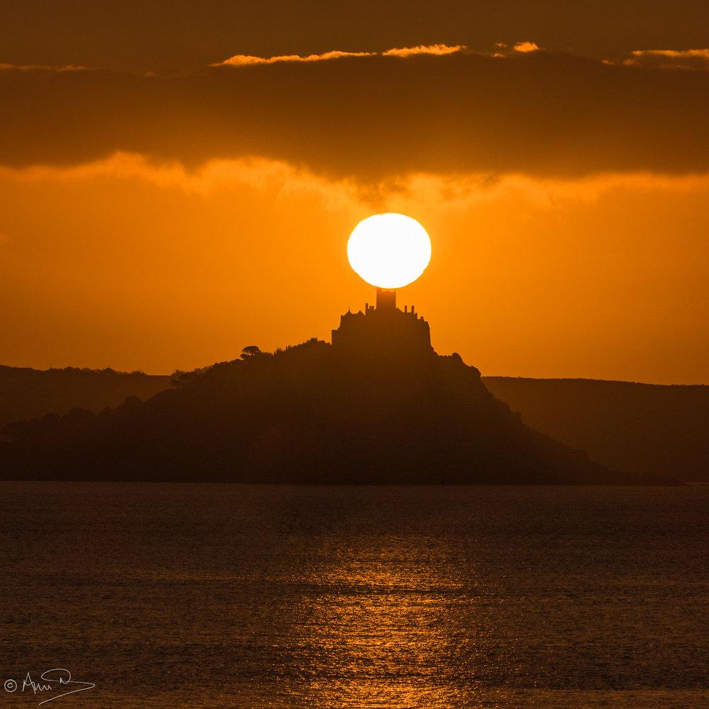 Cornish sunrise.