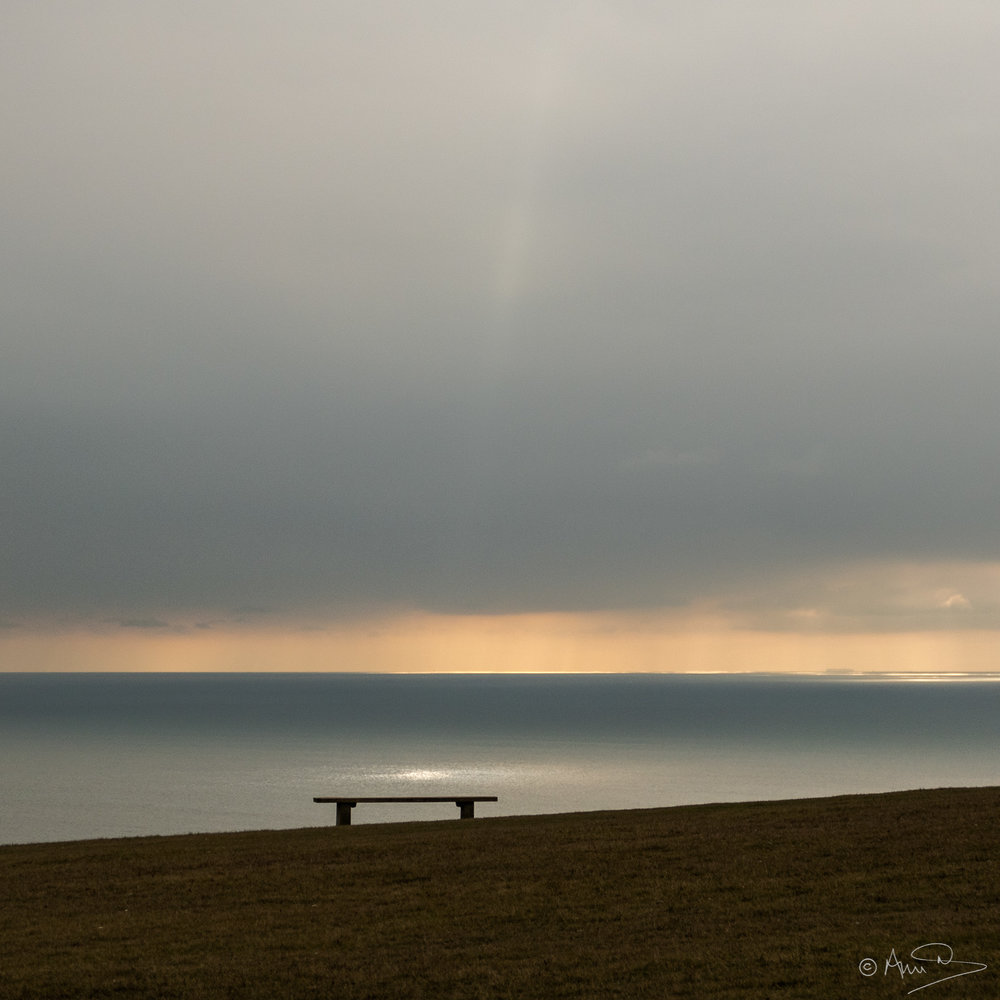 Bench on the edge...