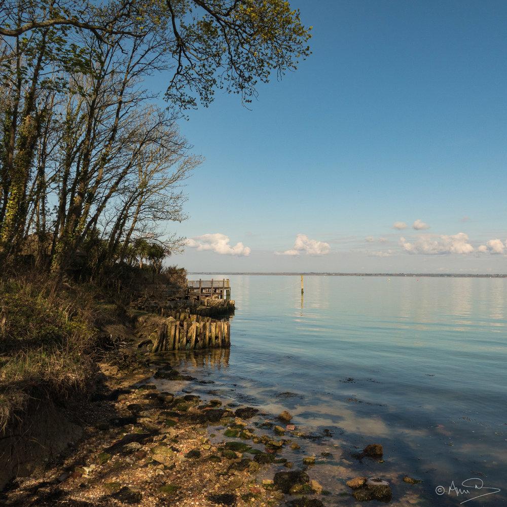 Bouldnor, Isle of Wight, UK