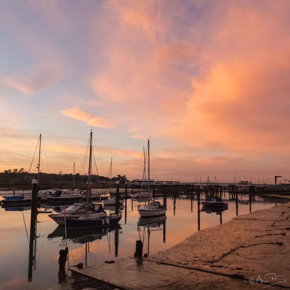 Yarmouth dusk.