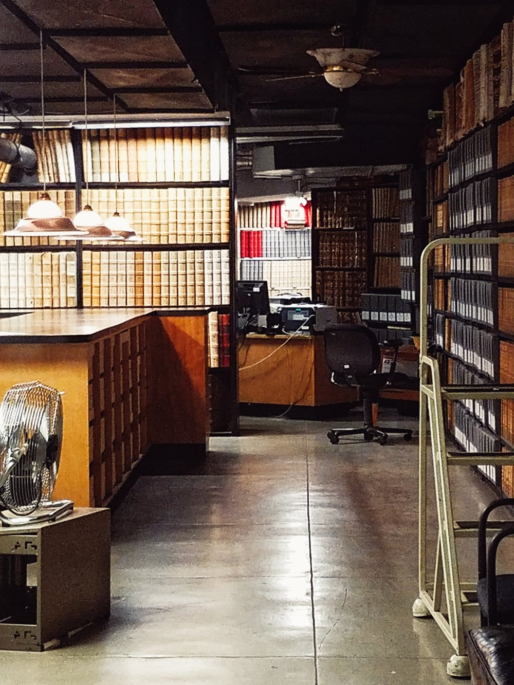 Inside the Archives at the Bronx County Courthouse