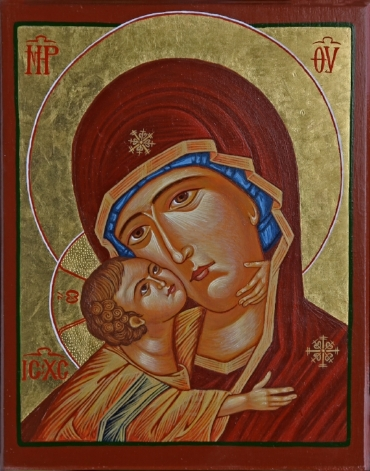 Virgin and Child  ( with permission of the iconographer)