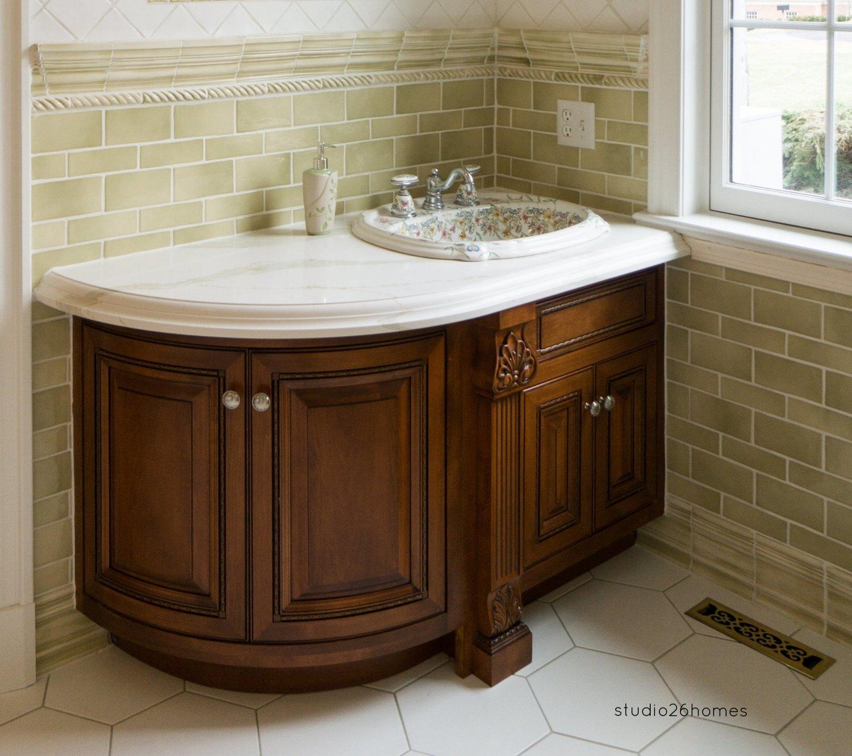 custom bathrooms — blue mountain woodworking, inc.