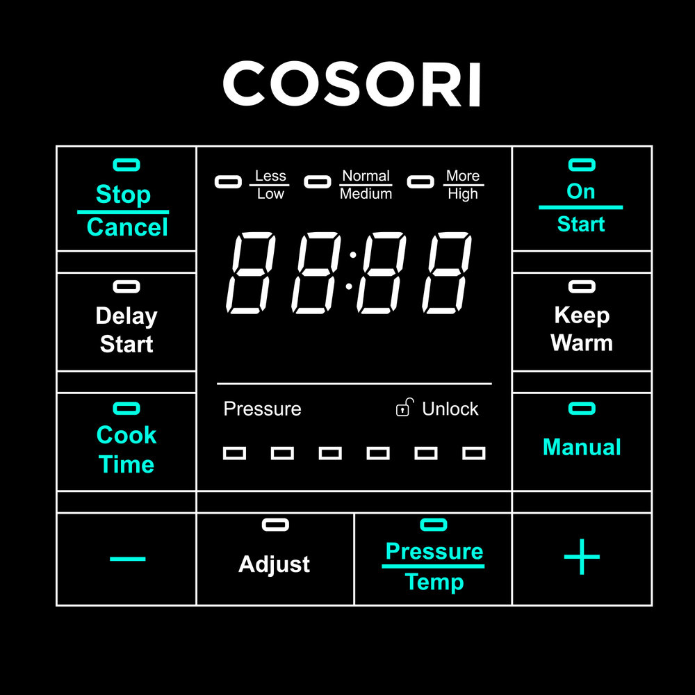 Intuitive Controls   Designed so you can create your culinary masterpiece with ease.