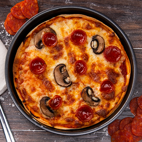 Pizza Pan   Try making pizzas or sweet and savory pies.