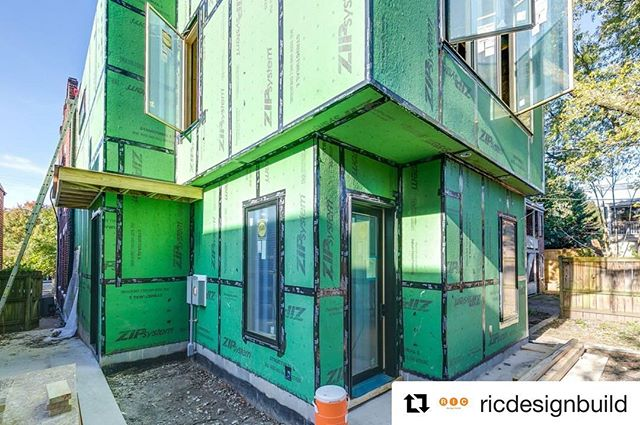 Wonderful to see my design come to life. Exterior is almost ready for finishes. Excited for the steel overhang and thankful for the beautiful weather. 🙏🏼🌞🍂 @RIC designbuild rocks!  #Repost @ricdesignbuild with @get_repost ・・・ Sunshine and a nice Fall day with @huberwood 🌞🍂 -- . . . #huberwood #sustainabledesign #ecodesign #greendesign #underconstruction #moderndesign  #carpentry #designbuild #renovation #architecture #RIC #design #exterior #remodel #addition #construction #RVA #Richmond #804 #sustainabledesign #VA #interiordesign #RIC #homeinspo
