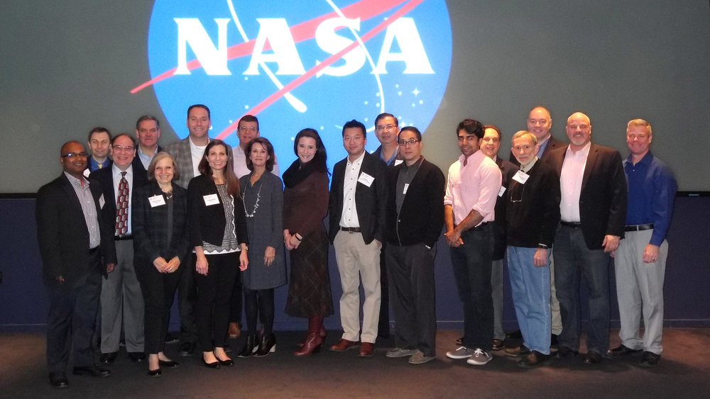 Innovators representing the top ten ideas presented at NASA's first iTech Forum, December 5-8, 2016.