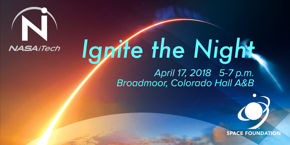 A  NASA iTech event in collaboration with the Space Foundation