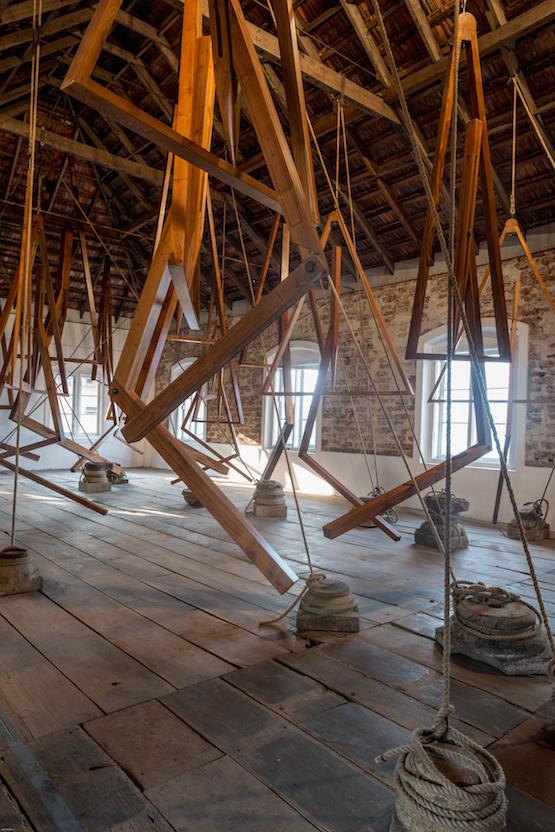 Bharti Kher,Three Decimal Point \ Of a Minute \ Of a Second \ Of a Degree at the Kochi-Muziris Biennale 2014