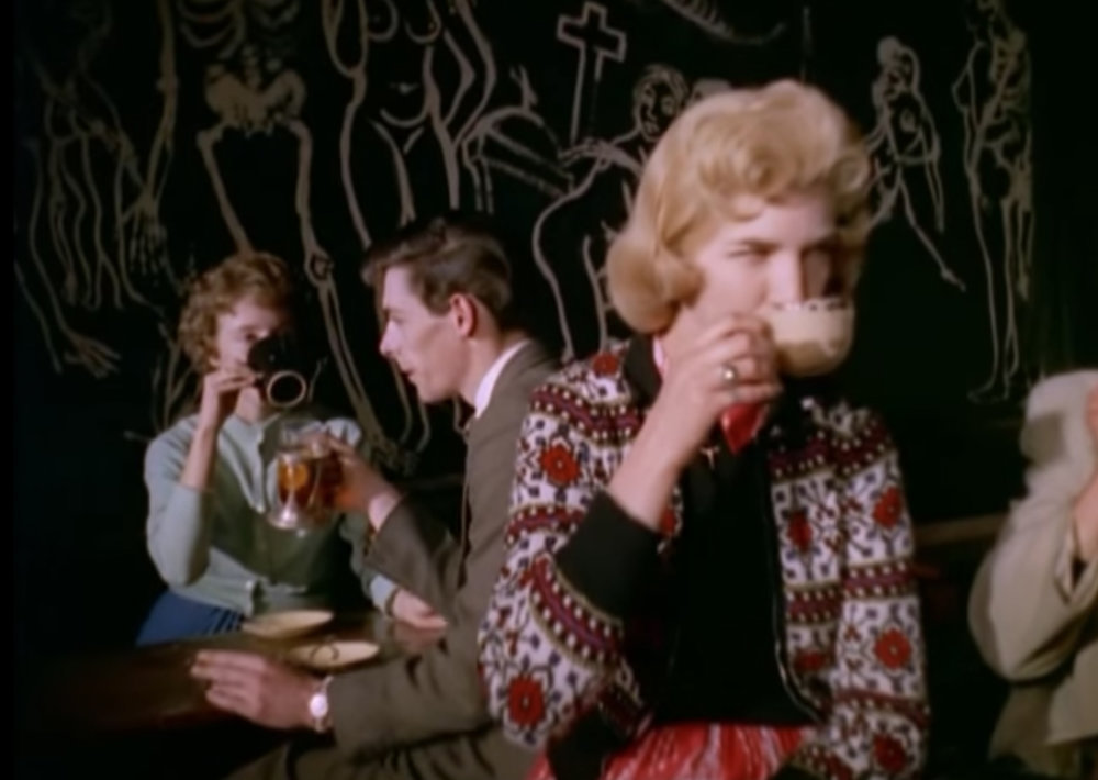 Still from 'Look at Life – Coffee Bar', 1959.
