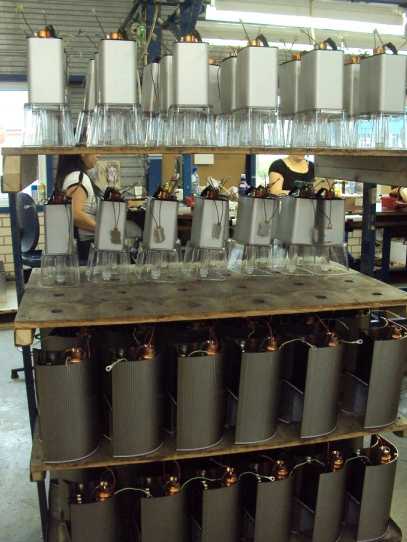 The Moccamaster production line